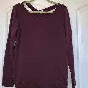 Sweaters - Maroon Sweater